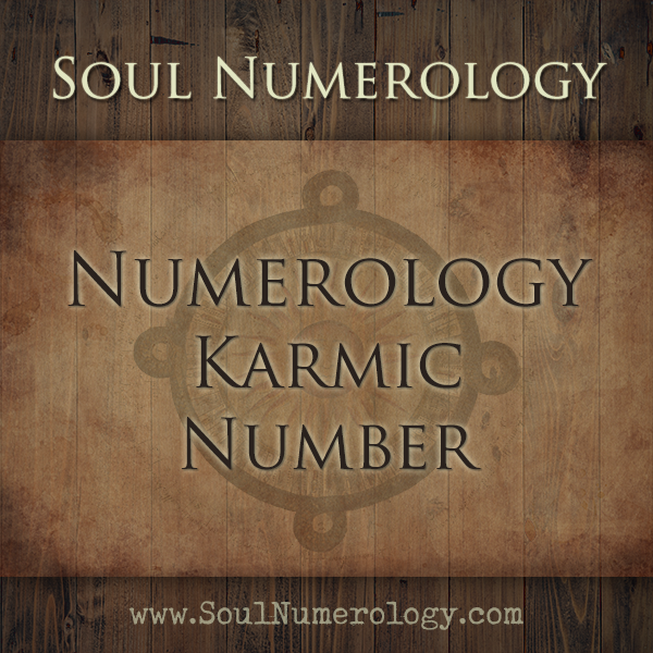 karmic connection numerology